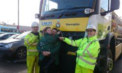 vl Gary Tibbles, Supervisor, Sophie Ingham, Mum - Amanda Ingham & Niki Atkins, Fleet Manager (2)