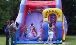 The bouncy slide