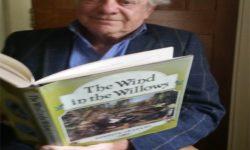 David Jason with his favourite children's book