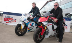 Bike legends Freddie Spencer and Wayne Gardner