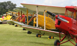 Vintage planes will be on display