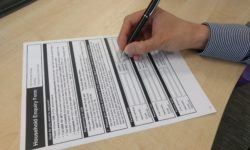 Annual voters' registration form
