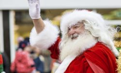 Father Christmas makes an early appearance in Aylesbury