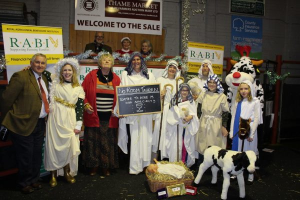 The 2016 carol service was well attended by RABI supporters from across the local area, with the farmers mart helping to raise a total of £1,055 towards the work of the charity.