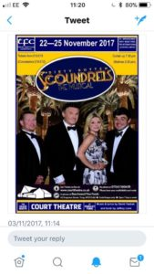 Dirty Rotten Scoundrels @ The Court Theatre   England   United Kingdom