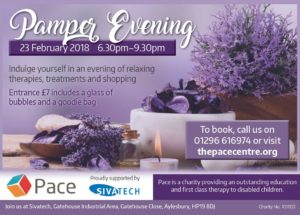 Pace Pamper Evening @ The Pace Centre | Weston Turville | England | United Kingdom