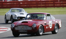 Aston Martin DB4 at Silverstone
