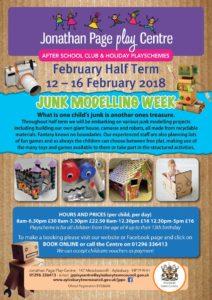 February Half Term Playscheme @ Jonathan Page Play Centre | England | United Kingdom