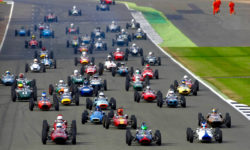 Formula Junior racers in action