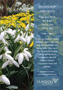 Claydon Estate Snowdrop Weekends @ Claydon Estate | Middle Claydon | England | United Kingdom