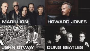 Marillion, Howard Jones, John Otway and The Dung Beatles @ Aylesbury Waterside Theatre | England | United Kingdom