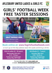 FREE Girls and Ladies Football Taster Session (8 to 50 years) @ Fairford Leys Playing Fields | England | United Kingdom