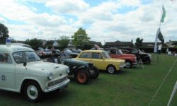 Rotary classic car meet in Buckingham