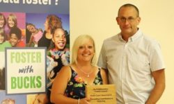 Outstanding Contribution to Fostering – Hannah and Martin Ward