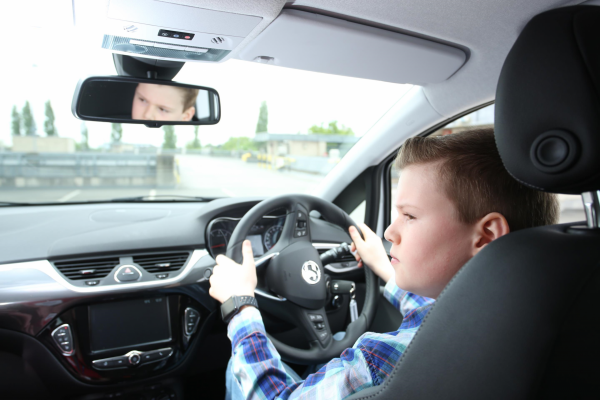 Young drivers can get behind the wheel at Silverstone