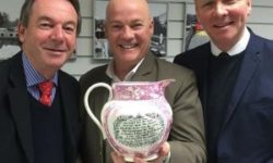 Antiques experts Eric Knowles, Paul Hayes and Tom Keane