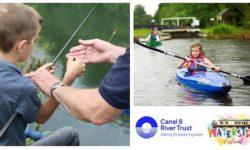 Waterside canal festival