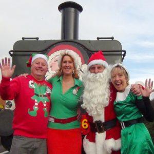 Santa Steam Specials ex Chinnor at Chinnor & Princes Risborough Railway @ Chinnor & Princes Risborough Railway | England | United Kingdom
