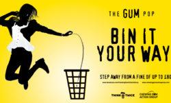 War on chewing gum litter