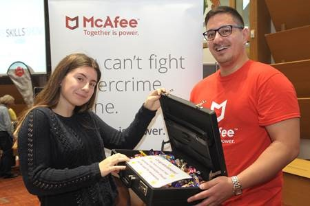 Cyber security firm McAfee are one of the many high profile employers returning to the Bucks Skills Show