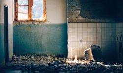 A derelict home