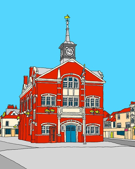 Thame Town Hall, by James Taylor