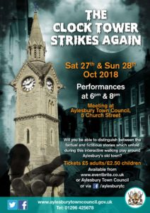 The Clock Tower Strikes Again - a walking play @ Aylesbury Town Council | England | United Kingdom