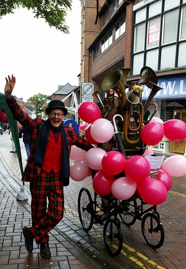 Wear it Pink Day in Aylesbury