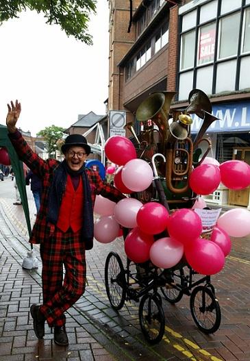 Wear it Pink Day in Aylesbury