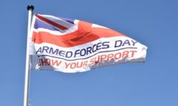 Armed Forces Day is next held in 2019