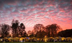Christmas fair at Waddesdon