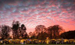 Christmas fair at Waddesdon