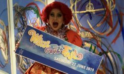 La Voix from Waterside's panto makes the announcement