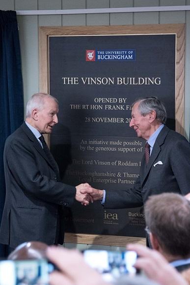 Vinson Centre opening