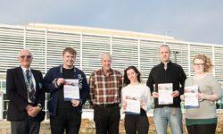 Staff at the Aqua Vale team awards