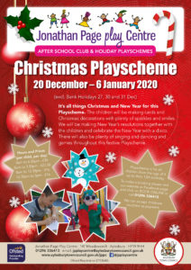 Christmas Playscheme @ Jonathan Page Play Centre