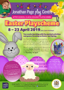 Easter Playscheme @ Jonathan Page Play Centre