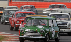 Minis at Silverstone