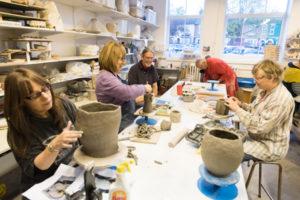 Pottery Summer School @ Queens Park Arts Centre