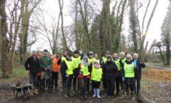 The Bedgrove tree planting