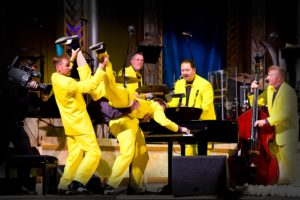 The Jive Aces - Big Beat Revue @ Elgiva Theatre