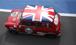 Mini original Silverstone Union jack roof