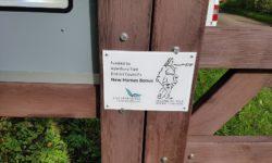 A Micro Grants plaque
