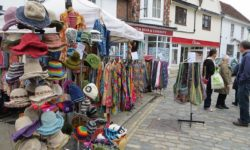 The World Village Market in Thame