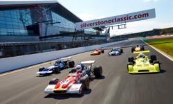 Silverstone Classic f2 racing