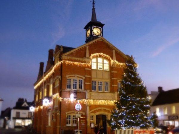 Thame Christmas lights