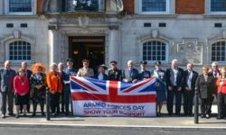 Armed Forces Day ticket launch