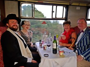 Gin & Cheese Tasting + Steam @ Chinnor & Princes Risborough Railway
