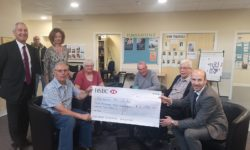 Cheque for Chilterns MS Centre
