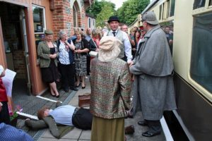 Murder Mystery Steam Supper @ Chinnor & Princes Risborough Railway